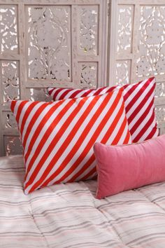 HOLY STRIPE & GOD'S PILWE CUSHION COVERS Group picture