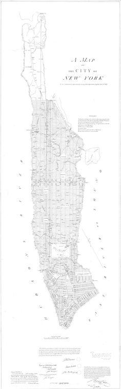 manhattan street map - Cerca con Google