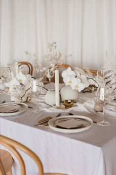 Dreamy tablescapes featuring a hanging Babies Breath and Annual Honesty (Lunaria) installation featuring ceramic serve-wear, neutrals tones, linen, white florals and coral!! Adore the little details in this.  Styling, design and florals @two_foxes_styling Linen @tble.linen.hire Tableware, ceramics, chairs and cutlery @twofoxesrentals Stationary @justmytype_nz Candles @blackblazesydney  #enagednz #engaged #weddingstyle #fineartdecor #fineartweddinginspo #linentableinspo #weddingbridalstyle… Babies Breath, Opening Day, Neutral Tones, Engagement Shoots, Tablescapes, Wedding Styles, Table Settings, Romantic, Candles