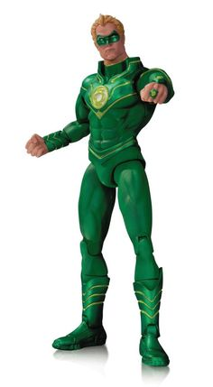 Green Lantern Alan Scott Earth 2 DC Comics New 52 Action Figure DC Collectibles #DCComics