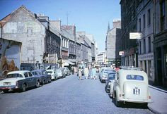 Overgate, Dundee. Dundee City, My Heritage, Scotland Travel, England Uk, Homeland, Great Britain, Old Photos, 1960s, Street View