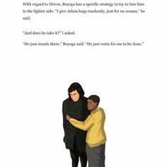 """712 Likes, 18 Comments - Adam Driver Fan (@kylokillerbase) on Instagram: """"I find this really cute. Please give a little love and some warm hugs for #KyloRen. ❤️ . .…"""""""