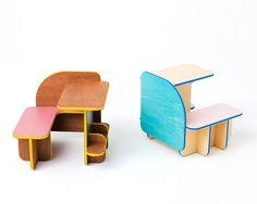 Multi purpose Dice Furniture by Torafu Architects