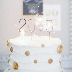 Happy New Year ! by Felicitaartjes New Years Pinterest Happy, Cakes and New year s cake