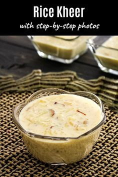 The BEST Kheer with condensed milk!! This instant rice kheer recipe is made with cooked, leftover rice, milk, and sweetened condensed milk (aka milkmaid or mithai mate). Kheer Recipe With Condensed Milk, Condensed Milk Recipes, Food Tips, Food Hacks, Janmashtami Images, Rice Kheer, Instant Rice, Leftover Rice, Rice Milk