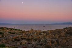 Le site romain antique de Tharros - Sardaigne