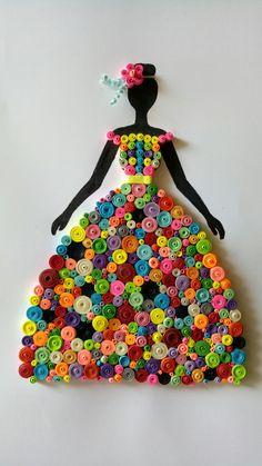 DIY Quilling Crafts for Valentine's Day - Best Paper Quilling Designs Diy Quilling Crafts, Quilling Work, Paper Quilling Patterns, Paper Crafts, Quilling Ideas, Art Crafts, Valentine Crafts For Kids, Crafts For Kids To Make, Valentines
