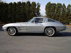 1963 chevrolet corvette split window.  perfection.