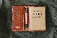 Edison Wallet - Tobacco | Loyal Stricklin
