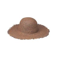 Women's Peter Grimm Louella - Brown Sun Hats ($28) ❤ liked on Polyvore featuring accessories, hats, brown, beach hat, peter grimm hats, sun hat, wide brim hat and peter grimm