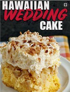 Hawaiian Wedding Cake - My Kitchen Recipes