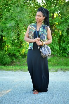 Simple summer look Camouflage Fashion, Camo Fashion, Curvy Girl Fashion, Black Women Fashion, Look Fashion, Plus Size Fashion, Fashion Outfits, Fashion Trends, Fashion Advice