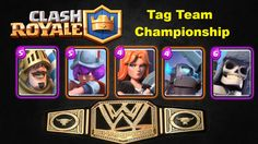 Clash Royale eps 2 - Tag Team Championship -