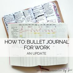 One of my never-ending quests is utilizing the bullet journal system for work – to make the most of my time toward the right things.  As a bullet journal pro, this is an evolving endeavor.  I…