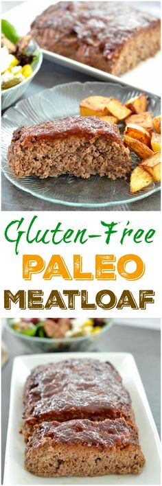 This Healthy Gluten-Free Paleo Meatloaf recipe is the perfect family ...