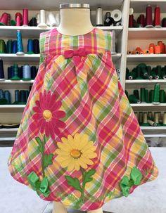 08fe7e2a7 12/18 months Springtime First Birthday Dress First Birthday Dresses, Dot  Dress, 18