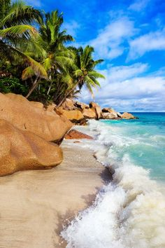 La Digue, Seychelles Vacation Destinations, Holiday Destinations, Vacation Spots, Dream Vacations, Vacation Resorts, All Inclusive Resorts, Oh The Places You'll Go, Places Around The World, Places To Travel