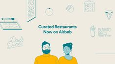 A great meal shared with friends, old or new, can make a trip special. That's why, starting today, you can book a table at nearly 650 restaurants across the United States directly through Airbnb, powered by Resy.Through agency Bokeh I got to illustrate …