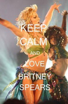 Keep Calm  Love Britney Spears! britney-spears