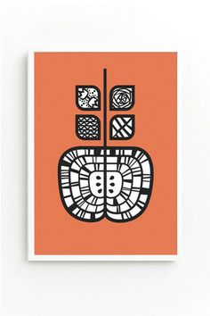 Apple A Day print available now at DOWSE
