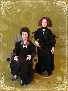 Spanish old ladies inspired by my ancestors, 2015 My Ancestors, Old Women, Old And New, Trending Outfits, Love Her, Unique Jewelry, Handmade Gifts, Dolls, Lady