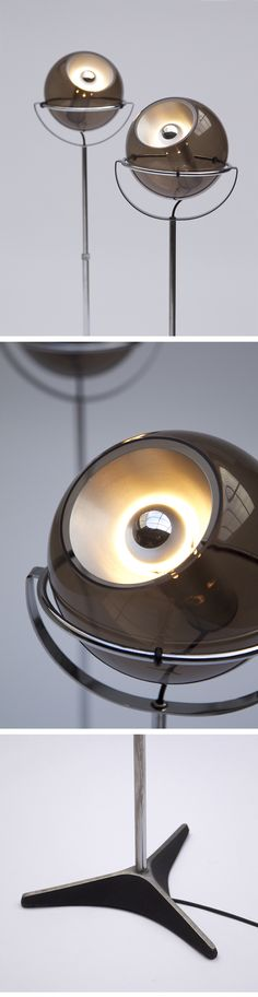 GLOBE, RAAK, FLOOR LAMPS, dutch, design,1972