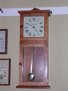 shaker wall clock kit woodworking projects plans