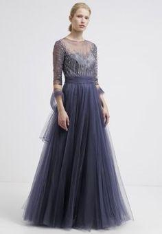 Luxuar Fashion - Ballkleid - grey blue