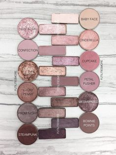 Makeup Geek eyeshadow dupes for the Urban Decay Naked 3 palette Makeup Vs No Makeup, Makeup Goals, Skin Makeup, Makeup Inspo, Makeup Inspiration, Makeup Brushes, Makeup Tips, Dupe Makeup, Makeup Brands