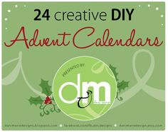 24 Creative DIY Advent Calendars