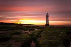 Perch Rock light house sunset long exposure by Paul Farrell (Fagsy63), via Flickr
