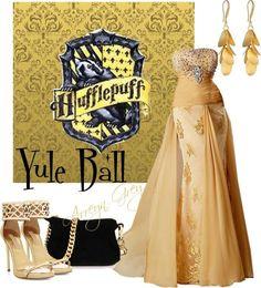 해리포터 후플푸프 드레스