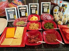 Summer Party Food Ideas - Gourmet Burger Bar