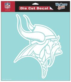 Hot new item just added today Minnesota Vikings.... Click here http://everythinglicensed.com/products/minnesota-vikings-die-cut-decal-8x8-white-old-logo?utm_campaign=social_autopilot&utm_source=pin&utm_medium=pin take a closer look.