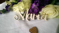 Wooden Wedding Place Name Place Setting Table Setting