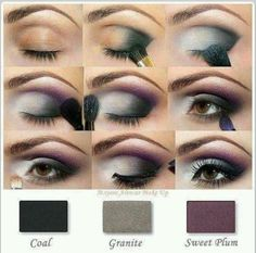 Dramatic Look with a pop of purple! www.marykay.com/karenbeamer. Sweet Plum, Mary Kay Mineral Eye Color works beautifully with this look!