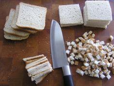 Toastová roláda (fotorecept) - recept   Varecha.sk Magnetic Knife Strip, Knife Block, Feta, Toast, Cheese, Savory Snacks