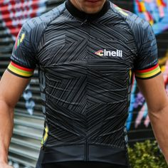 Slim fit road cycling jersey with a quick drying Silvertouch fabric construction. Featuring a hi-vis reflex stripe on the rear pocket edge and eye catching Cinelli graphics to keep you safe and visible. Made In Italy.