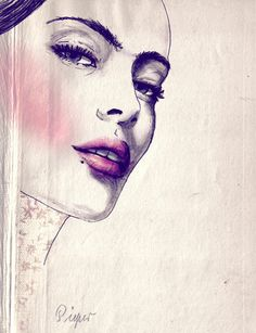 by Sabine Pieper #illustration #painting #drawing