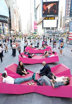 j. mayer h. has planted 'XXX times square with love' in the heart of new york…