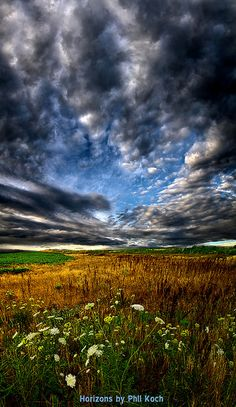 Sky High  ,Wisconsin landscape