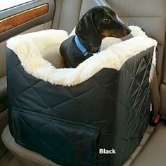 Snoozer Pet Dog Cat Puppy Outdoor Lookout II Car SUV Secure Safety Seat Medium Grey Quilt