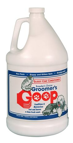 GROOMER'S GOOP Glossy Coat Pet Conditioner with Pump, 1-Gallon * Check out the image by visiting the link. (This is an affiliate link and I receive a commission for the sales)