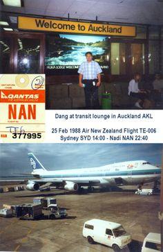 New Zealand Auckland Airport AKL Mug Travel Airline Pilot Airport Gift