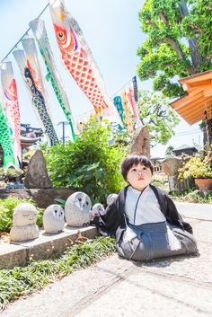 """May 5th is called """"Kodomo-no-hi"""". It is a celebration for boys. We also fly """"Koinobori"""" outside of our houses."""