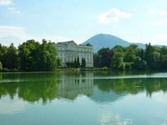 The Sound of Music house in Salzburg, Austria.