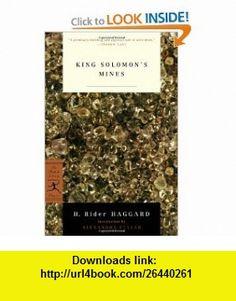 King Solomons Mines (Modern Library Classics) (9780812966299) H. Rider Haggard, Alexandra Fuller , ISBN-10: 0812966295  , ISBN-13: 978-0812966299 ,  , tutorials , pdf , ebook , torrent , downloads , rapidshare , filesonic , hotfile , megaupload , fileserve