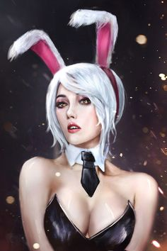 Battle bunny riven by jackiefelixwei