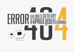20.404 Error Page design at Taptapdesign