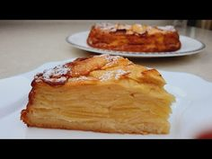 ¡Más manzanas que masa! ¡Tarta de manzana súper cremosa! - YouTube Apple Desserts, Apple Recipes, Healthy Desserts, Just Desserts, Delicious Desserts, Real Food Recipes, Cake Recipes, Dessert Recipes, Cooking Recipes